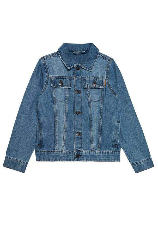 Name it - NAME IT Kurtka jeansowa Tpims 13187686 Niebieski Regular Fit. Kolor: niebieski. Materiał: jeans