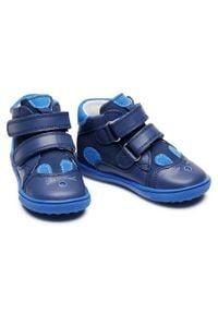 Bartek - Trzewiki BARTEK - 11702 Niebieski. Kolor: niebieski. Materiał: skóra, zamsz. Szerokość cholewki: normalna. Sezon: zima, jesień