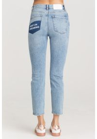 Pinko - JEANSY ELLE SLIM FIT PINKO. Stan: podwyższony. Materiał: jeans. Styl: klasyczny
