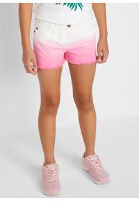 Białe spodnie bonprix krótkie