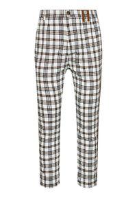 Imperial Spodnie materiałowe PD1PBNU Kolorowy Regular Fit. Materiał: materiał. Wzór: kolorowy