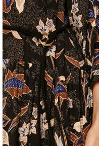 medicine - Medicine - Sukienka Salted Caramel. Kolor: czarny. Materiał: tkanina