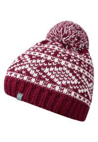 Czerwona czapka Just Yuppi na zimę