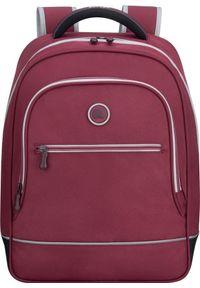 Czerwony plecak Delsey