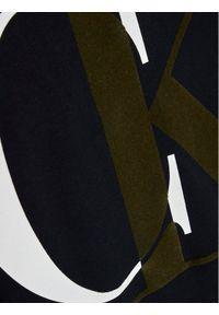 Calvin Klein Jeans Bluza Exploded Monogram IB0IB00628 Czarny Regular Fit. Kolor: czarny
