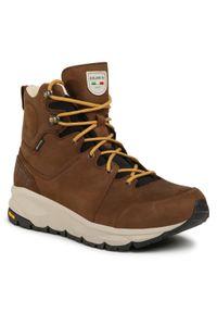 Brązowe buty trekkingowe Dolomite trekkingowe, Gore-Tex