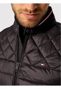Czarna kurtka puchowa TOMMY HILFIGER
