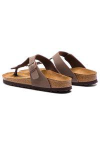 Birkenstock Japonki Gizeh Bs 0043753 Brązowy. Kolor: brązowy