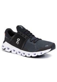 Czarne buty do biegania On z cholewką