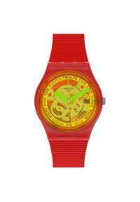 SWATCH ZEGAREK RETRO-ROSSO GR185. Rodzaj zegarka: cyfrowe. Styl: retro