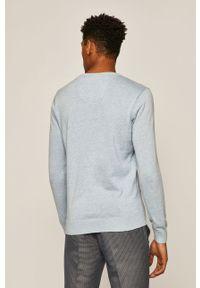 Niebieski sweter medicine casualowy, na co dzień