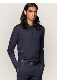 BOSS - Boss Polo Paddo 11 50391826 Granatowy Regular Fit. Typ kołnierza: polo. Kolor: niebieski
