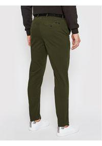 Calvin Klein Chinosy K10K106894 Zielony Slim Fit. Kolor: zielony