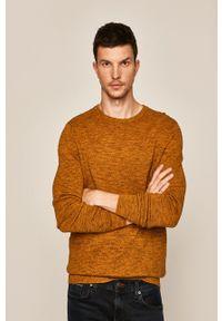 medicine - Medicine - Sweter Basic. Kolor: żółty. Materiał: materiał