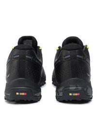 Czarne buty trekkingowe Salewa Gore-Tex, trekkingowe, z cholewką