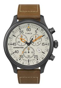 Brązowy zegarek Timex #5