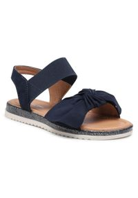 Niebieskie sandały Nelli Blu na lato, z aplikacjami