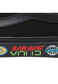 Vans - Tenisówki VANS - Sk8-Low VN0A4UUK4WB1 (Disruptive) Black/Black. Okazja: na co dzień. Kolor: czarny. Materiał: materiał, zamsz, skóra. Szerokość cholewki: normalna. Model: Vans SK8