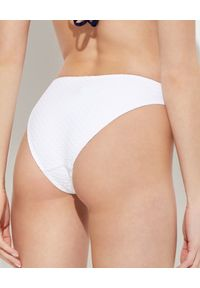 Melissa Odabash - MELISSA ODABASH - Biały dół od bikini Barcelona. Stan: obniżony. Kolor: biały. Materiał: tkanina, materiał