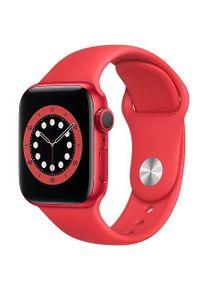 APPLE - Smartwatch Apple Watch 6 GPS+Cellular 40mm aluminium, PRODUCT(RED) pasek sportowy. Rodzaj zegarka: smartwatch. Styl: sportowy