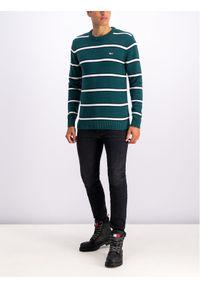 Zielony sweter klasyczny Tommy Jeans