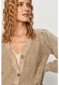 Sweter rozpinany Jacqueline de Yong na co dzień, casualowy