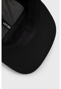 adidas Performance - Czapka z daszkiem. Kolor: czarny. Wzór: nadruk