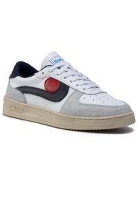 Białe buty sportowe Sofix z cholewką