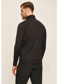 Czarna bluza rozpinana Under Armour bez kaptura, gładkie