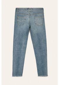 Niebieskie jeansy Guess Jeans z aplikacjami