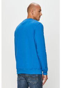 Niebieska bluza nierozpinana Prosto. bez kaptura, na co dzień