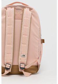 The North Face - Plecak. Kolor: różowy. Materiał: poliester