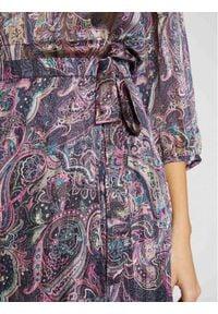 Morgan Spódnica plisowana 211-JIRIL Fioletowy Regular Fit. Kolor: fioletowy #6