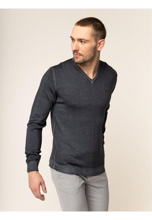 Digel Sweter 1298001 Szary Regular Fit. Kolor: szary