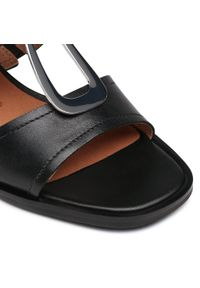 Czarne sandały Caprice