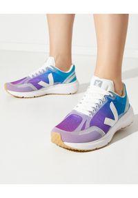 Veja - VEJA - Sneakersy tie-dye Condor 2. Kolor: niebieski. Materiał: poliester, guma. Szerokość cholewki: normalna
