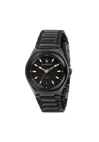 Czarny zegarek Maserati