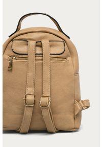 Beżowy plecak ANSWEAR wakacyjny