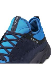 ecco - ECCO Trekkingi Mx M 82018401303 Granatowy. Kolor: niebieski. Sport: turystyka piesza
