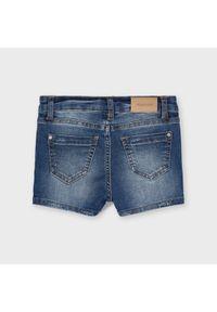 Mayoral Szorty jeansowe 236 Niebieski Regular Fit. Kolor: niebieski. Materiał: jeans