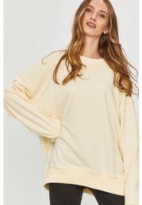 Żółta bluza Answear Lab bez kaptura, wakacyjna, długa, z długim rękawem #6