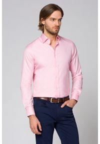 Różowa koszula Lancerto elegancka