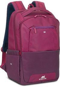 Fioletowy plecak na laptopa RIVACASE