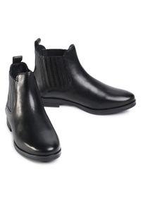 Lasocki - Sztyblety LASOCKI - OCE-NELA-01 Black. Kolor: czarny. Materiał: skóra. Szerokość cholewki: normalna. Obcas: na obcasie. Wysokość obcasa: średni