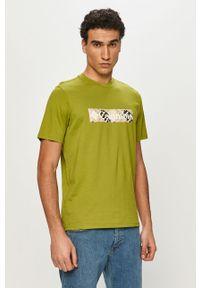 Zielony t-shirt columbia na co dzień, casualowy
