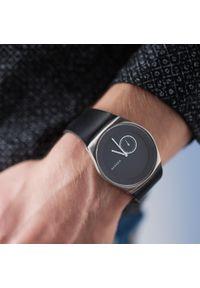 Czarny zegarek Skagen casualowy