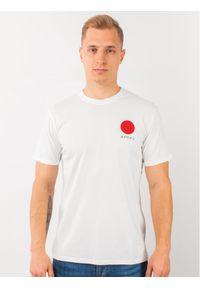 Biały t-shirt Edwin