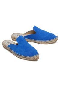 Niebieskie klapki Manebi