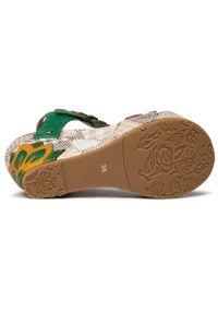 Zielone sandały Laura Vita