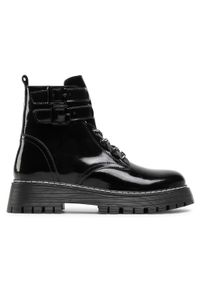 Czarne buty trekkingowe Badura